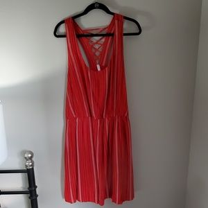 Red Striped Xhilaration Dress